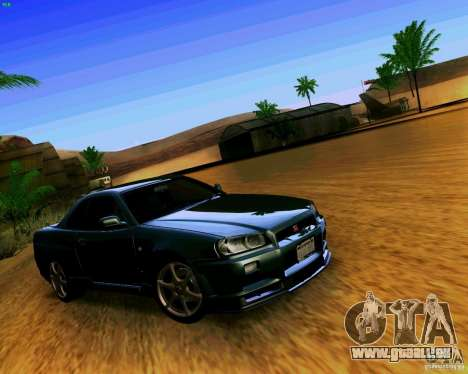 ENBSeries by S.T.A.L.K.E.R pour GTA San Andreas