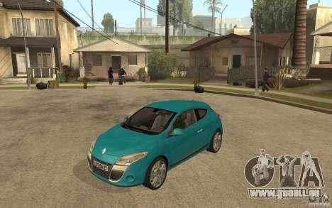 Renault Megane 3 Coupe für GTA San Andreas