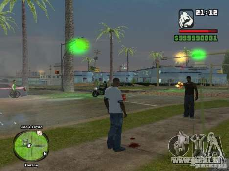 Adidas Crazy Dog T-shirt für GTA San Andreas zweiten Screenshot