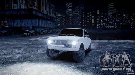 VAZ 2101 Avtosh Stil für GTA 4