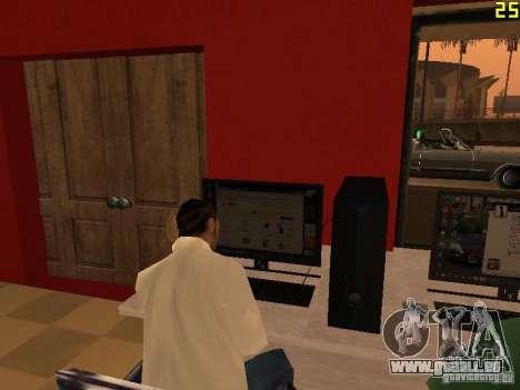 Ganton Cyber Cafe Mod v1.0 für GTA San Andreas fünften Screenshot