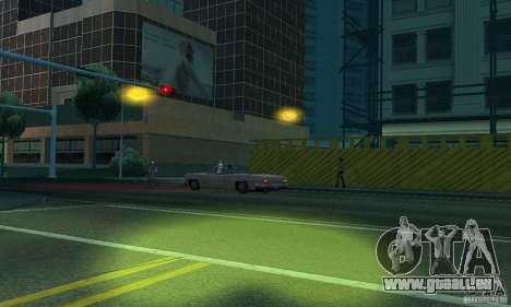Phares jaunes pour GTA San Andreas sixième écran