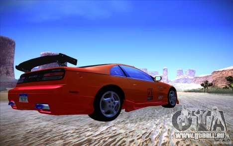 Nissan 300ZX Twin Turbo pour GTA San Andreas sur la vue arrière gauche