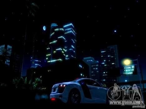 Ciel étoilé V 2.0 (solo) pour GTA San Andreas troisième écran