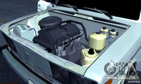 VAZ 2106 Hobo pour GTA San Andreas vue de côté