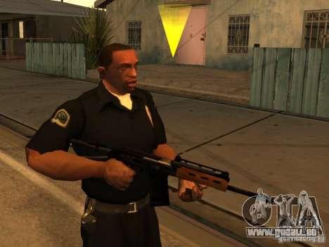 Pak domestique armes améliorés pour GTA San Andreas quatrième écran