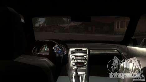 Acura NSX Stock pour GTA San Andreas vue de côté