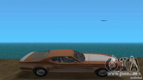 Ford Mustang 1973 pour GTA Vice City vue arrière