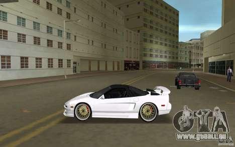 Honda NSX 1991 pour une vue GTA Vice City de la gauche