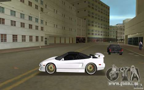 Honda NSX 1991 für GTA Vice City linke Ansicht