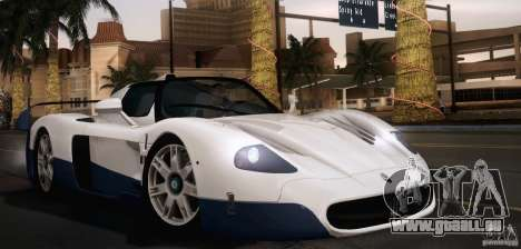 Maserati MC12 V1.0 pour GTA San Andreas salon