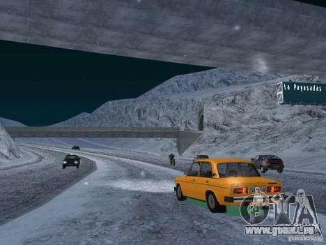 Neige pour GTA San Andreas huitième écran