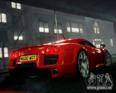 Noble M600 2010 pour GTA 4 est une gauche