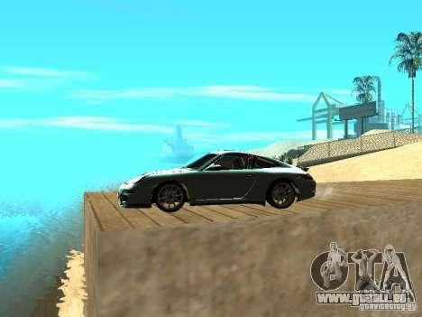 Porsche 997 GT3 RS für GTA San Andreas linke Ansicht