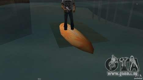 Surfboard 2 pour une vue GTA Vice City de la gauche