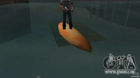 Surfboard 2 für GTA Vice City linke Ansicht