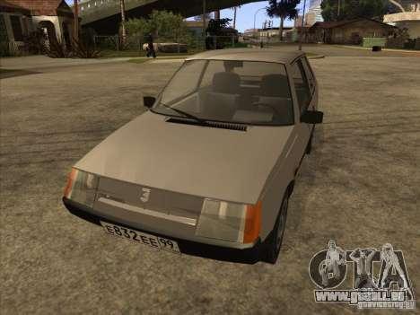 ZAZ 1102 Tavria für GTA San Andreas Rückansicht