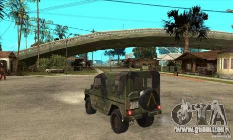 Mercedes Wolf für GTA San Andreas zurück linke Ansicht