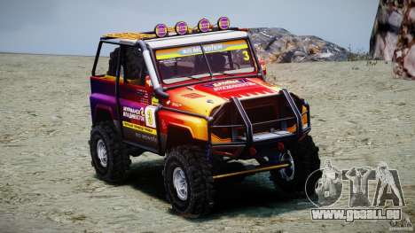 UAZ Hunter-Testversion v1. 0 für GTA 4 linke Ansicht