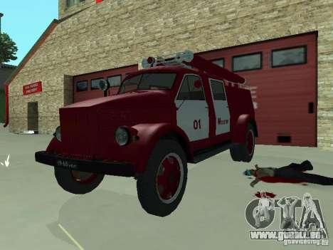 GAZ 51 20 ADC pour GTA San Andreas laissé vue