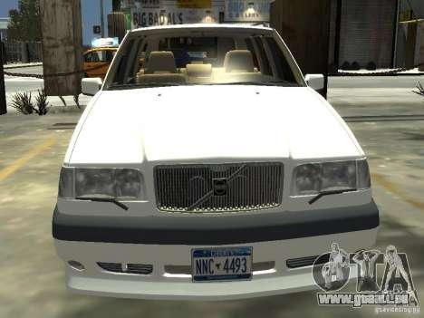 Volvo 850 R 1996 Rims 2 pour GTA 4 Vue arrière