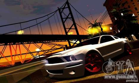 Shelby GT500 KR pour GTA San Andreas