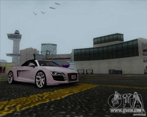 Audi R8 Spyder für GTA San Andreas linke Ansicht