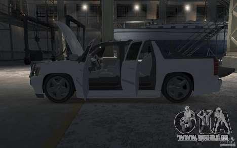 Chevrolet Avalanche v1.0 pour GTA 4 vue de dessus
