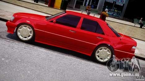 Mercedes-Benz W124 E500 1995 pour GTA 4 est une gauche