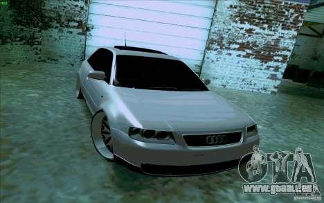 Audi A3 DUB Edition pour GTA San Andreas sur la vue arrière gauche