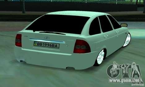 Lada Priora Ukraine pour GTA San Andreas laissé vue