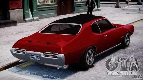 Pontiac GTO 1965 v1.1 für GTA 4 Seitenansicht