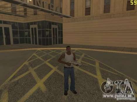 Régénération des bras en meurtre pour GTA San Andreas troisième écran