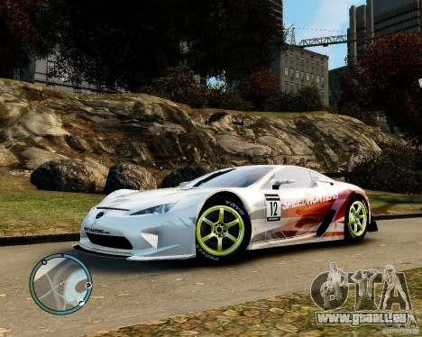 Lexus LFA Speedhunters Edition für GTA 4