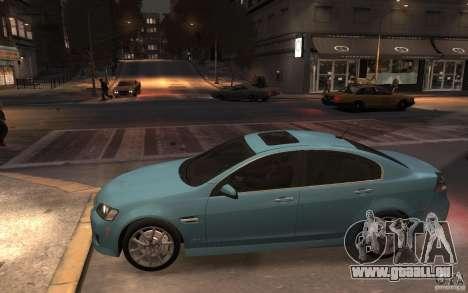 Pontiac G8 GXP pour GTA 4 est une gauche