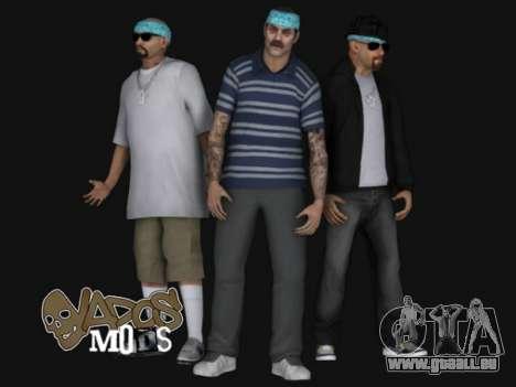Aztecas HD SkinPack pour GTA San Andreas