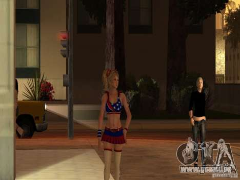Juliet Starling für GTA San Andreas zweiten Screenshot