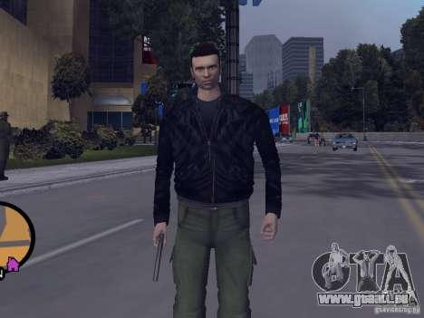 Claude HD from GTA III für GTA Vice City