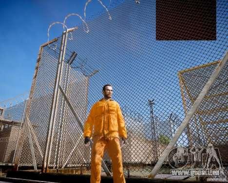 The prison Rob pour GTA 4 secondes d'écran