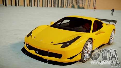 Ferrari 458 Challenge 2011 für GTA 4 rechte Ansicht