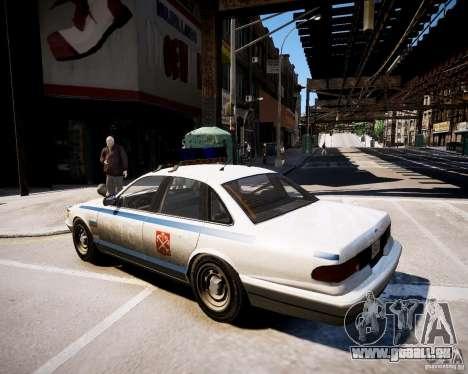 Russian Police Cruiser pour GTA 4 est une gauche