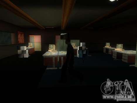 L'entrée de la zone de police à San Fierro pour GTA San Andreas cinquième écran