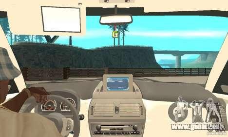 BMW X3 2.5i 2003 pour GTA San Andreas vue arrière