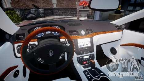 Maserati GranTurismo v1.0 pour GTA 4 Vue arrière