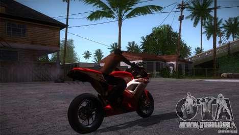 Ducati 1098 pour GTA San Andreas vue de droite