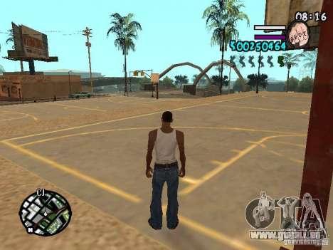 HUD by Hot Shot v2.1 pour GTA San Andreas deuxième écran