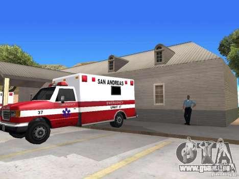 Renouvellement de la v1.0 du village d'Al-Kebrad pour GTA San Andreas huitième écran