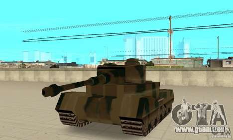 Char Tigre-RL pour GTA San Andreas