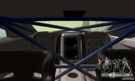 Nissan GTR R35 Tuneable pour GTA San Andreas vue de côté