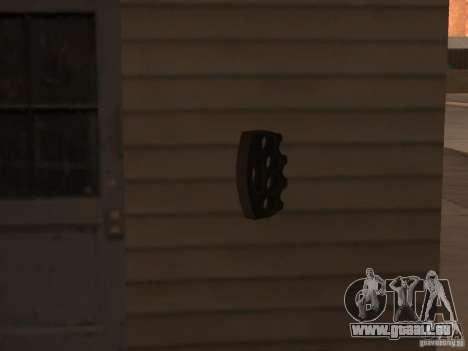 [Point Blank] Brass Knuckles pour GTA San Andreas quatrième écran
